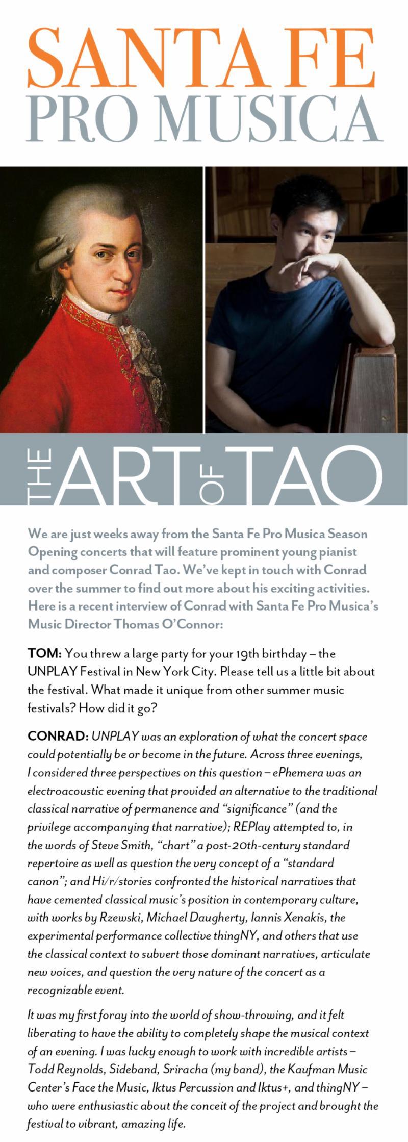 Tao of Mozart