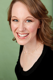 Kathryn Mueller, soprano (Photo by Nick Amonson)